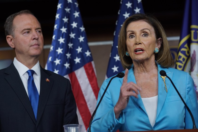 Do You Agree With Trump? Arrest Pelosi and Schiff for High Crimes and Treason?